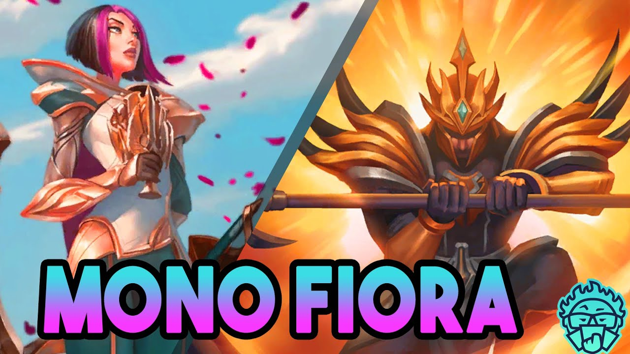 Crazy Fiora Golden Aegis Deck | Demacia & Frejlord | Legends of Runeterra Deck  (LoR Decks)