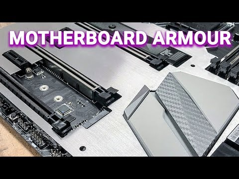 How To Make Motherboard Armour (CNC Machine) | MSI #YesWeBuild