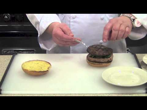 Grilled Portabella And Butterball Turkey Burger