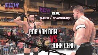 WWE 2K18 - John Cena vs RVD | ECW ONS '06 (WWE Replication)