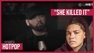 Eminem On How He Found Young M.A