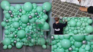 #howto Luxury Balloon Wall Decoration