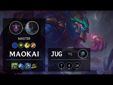 Maokai Jungle vs Kindred - EUW Master Patch 10.18