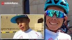 Esto dijo Miguel Ángel López después de ganar la etapa reina del Tour de Omán 2018