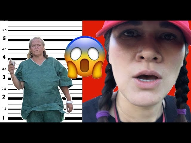 THIS CRAZY LADY ESCAPES FROM MENTAL HOSPITAL!