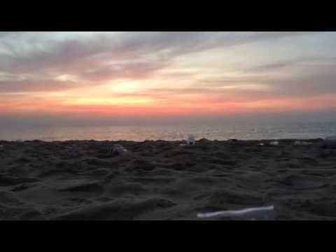 Rises sun at um saeed Qatar