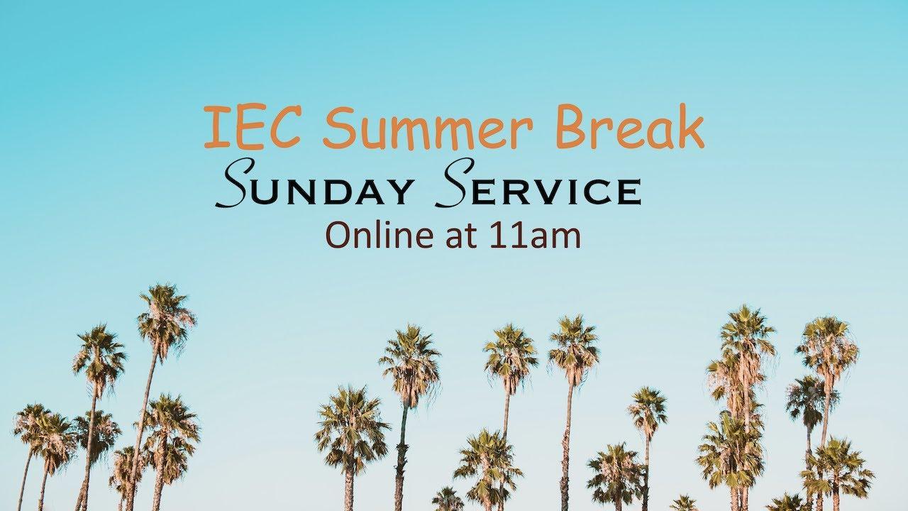 IEC Sunday Service  19/07/2020