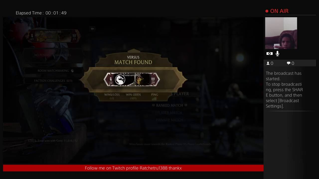 Matchmaking unavailable mkx