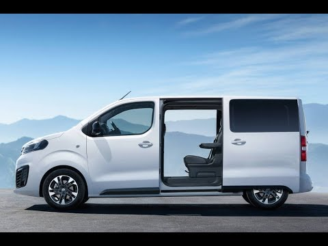 2020 Opel Zafira Life Drive Design Of The New 9 Seater Mpv From