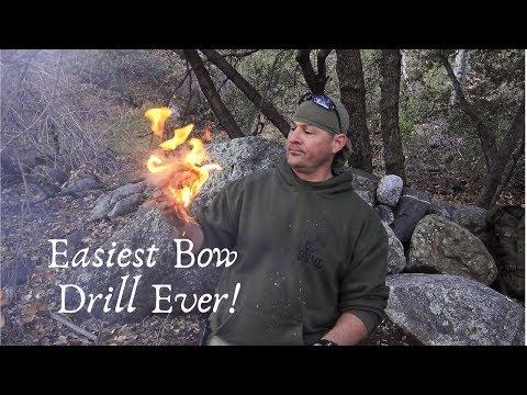 Lazy Man's Bow Drill Set