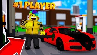 Becoming #1 Player by Spending ROBUX.. (Roblox Gas Station Simulator)
