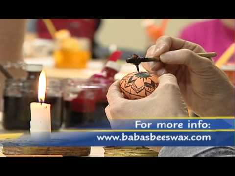 Learn Pysanky with Joan Brander at Delta Museum and Archives 2002 to 2008