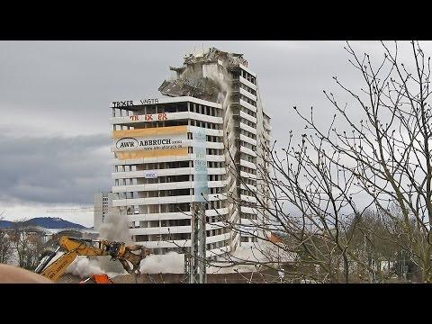 Bonn Center Sprengung (4K) 19.03.2017 - Demolition of Bonn Center, Bonn/Germany