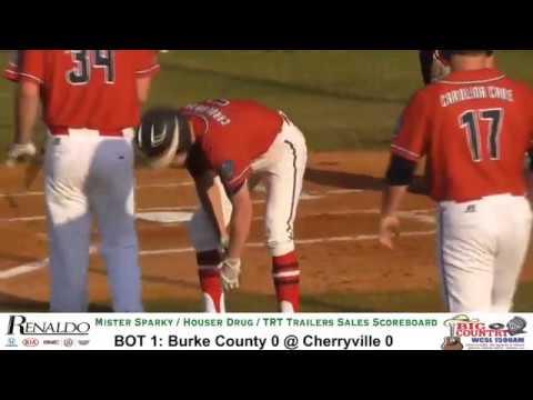 Burke County Post 21 @ Cherryville Post 100 - American Legion Baseball