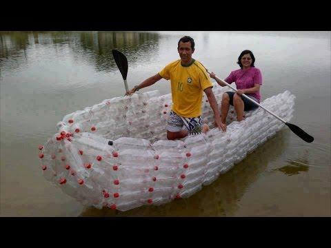 Что можно построить из пластиковых бутылок