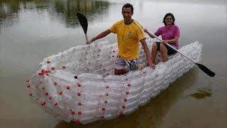 5 крутых вещей, сделанных из пластиковых бутылок(Все мы знаем, что такое пластиковые бутылки. И в большинстве случаев после использования они являются прост..., 2016-01-03T03:36:59.000Z)