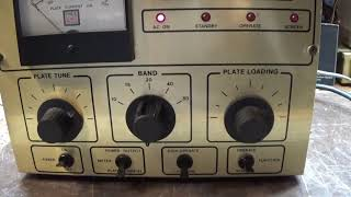 Pride KW-1 (DX-300) rare single 4CX250B  linear amplifier on the bench