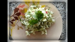 Диетический овощной салат