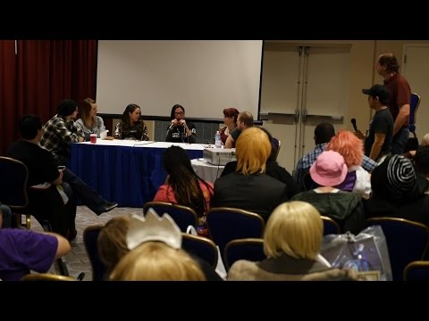 Anime USA 2016 - Inside the Voice Actor's Studio Panel