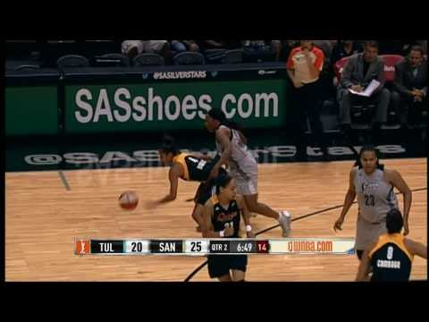 Game Recap: Tulsa Shock vs San Antonio Silver Stars