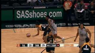 Game Recap: Tulsa Shock vs San Antonio Silver Stars