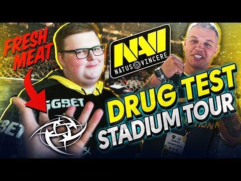 #NAVIVLOG: Матч vs NiP,  Допинг Тест, Экскурсия по Стадиону ESL One Cologne 2019