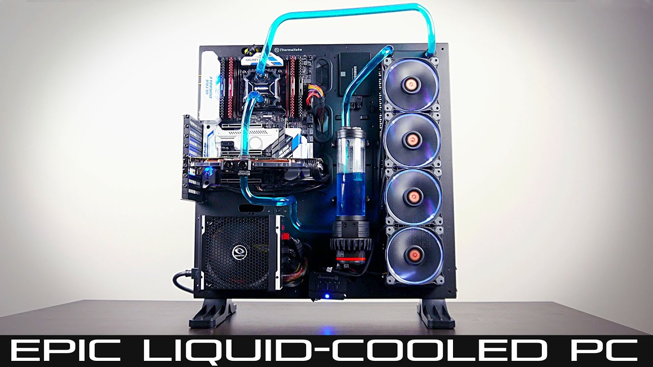Liquid Cooled Pc >> Epic Liquid Cooled Pc Build Guide Intel 6800k Gtx 1080 Part 1