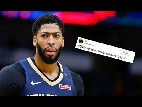 Lakers fans welcome Anthony Davis as NBA trade d eadline draws closer