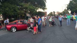Ridgewood NJ car show 9/11/15 with Hemi prowler