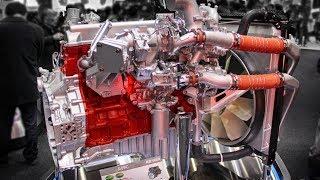 HINO PROFIA A09C Engine | 日野自動車 8866cc インタークーラー付き2段ターボエンジン