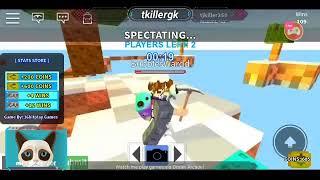 Roblox live stream(sky wars)