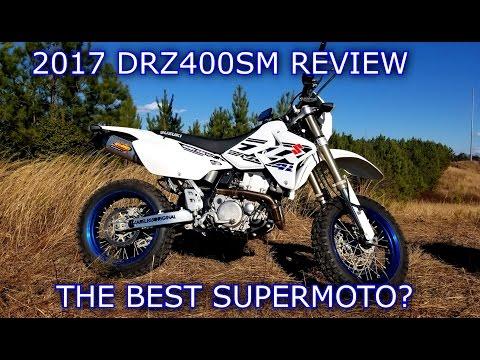 2017 SUZUKI DRZ400SM REVIEW | The Best Supermoto ?