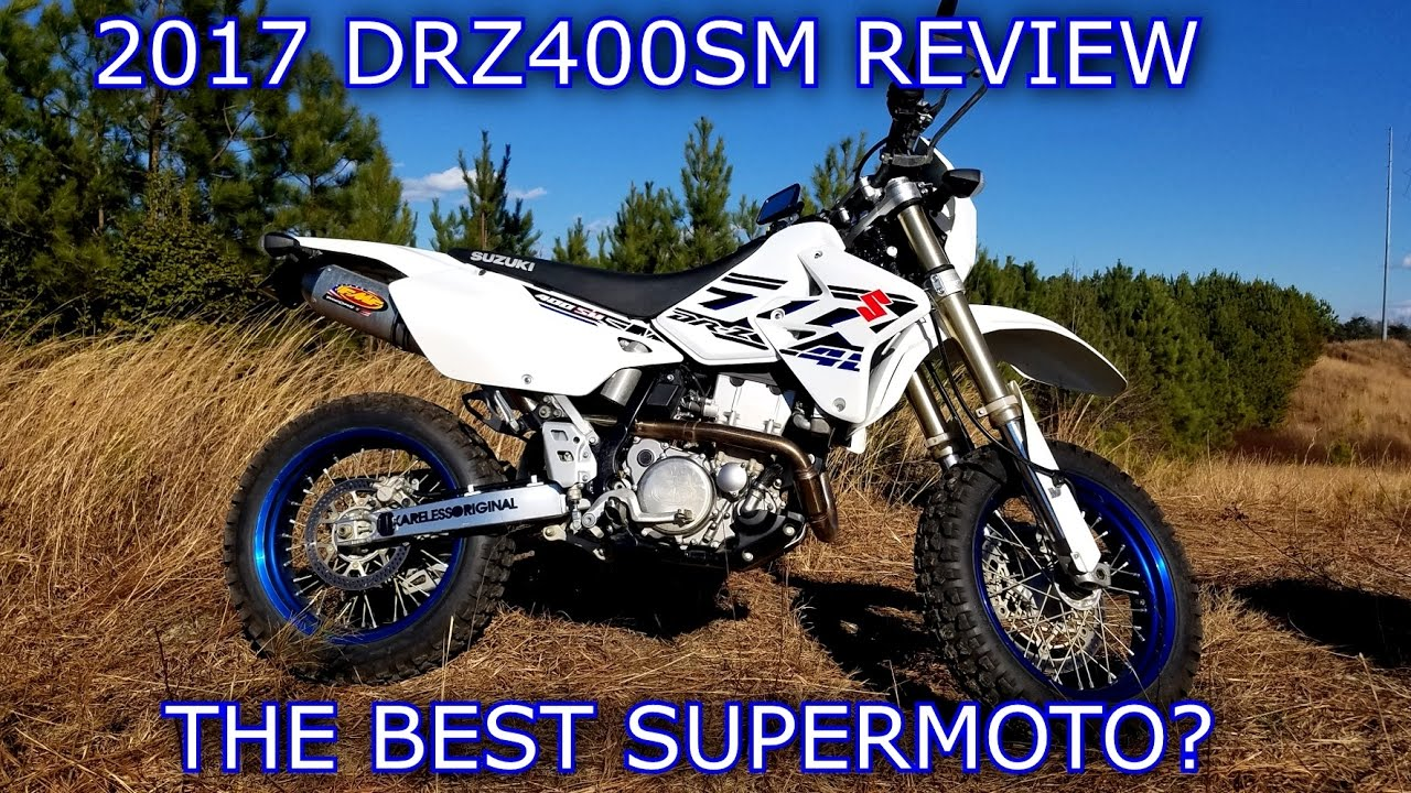 Suzuki DRZ-400SM Review | Updated July 2017