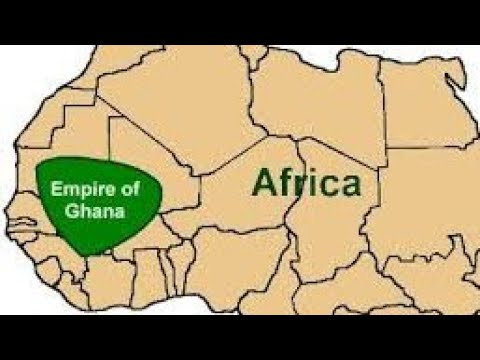 The Rise and Fall of the Ancient Ghana empire