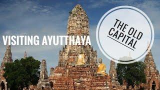 Old Thailand capital Ayutthaya.