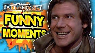 Star Wars Battlefront 2 Funny & Random Moments [FUNTAGE] #49