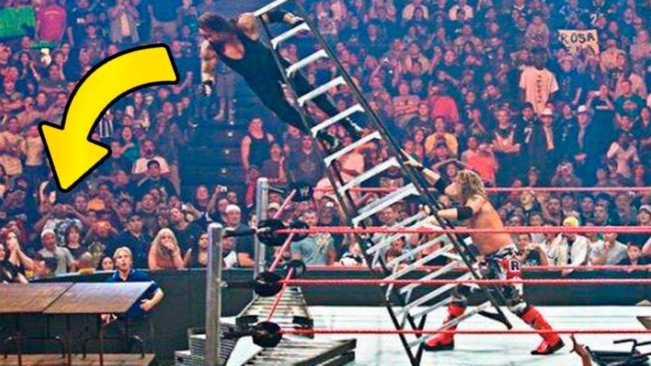 LOS 7 MOMENTOS MAS SHOCKEANTES DE WWE *Parte 2