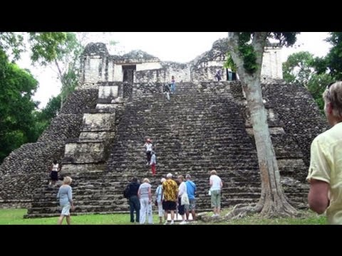 UK Tourists in Port of Costa Maya Mexico - YouTube