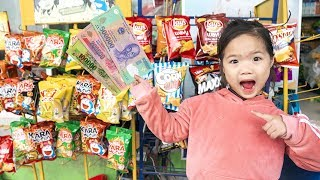 Kiều Anh Trông Cửa Hàng Cho Chị ❤ Suri Giúp Chị Bán Hàng - Trang Vlog
