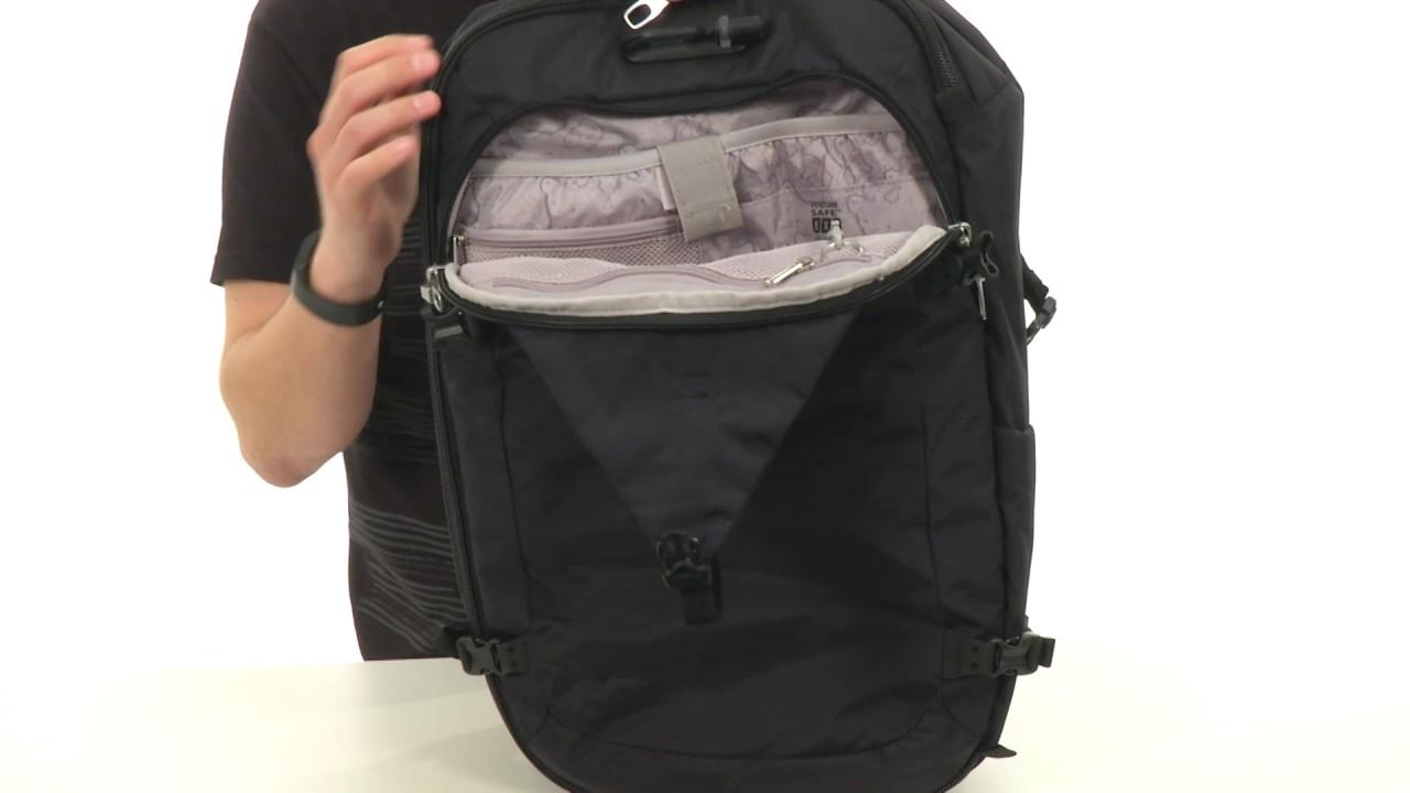 00620dcb8fb8 Pacsafe Venturesafe EXP45 Anti-Theft 45L Carry On Travel Pack SKU 8872052