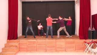 Актерское мастерство в Театре без Границ - видео с занятий