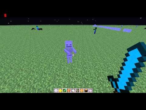 Squelettes sans arc . Minecraft