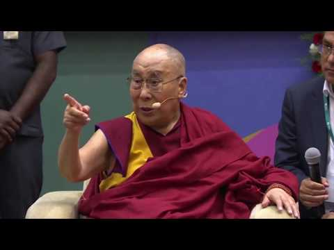 Dalai Lama speaking in TISS on ancient Indian knowledge and Love