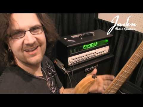 Jaden Rose Guitars - NAMM 2012