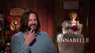 Annabelle Comes Home Interview With Director Gary Dauberman