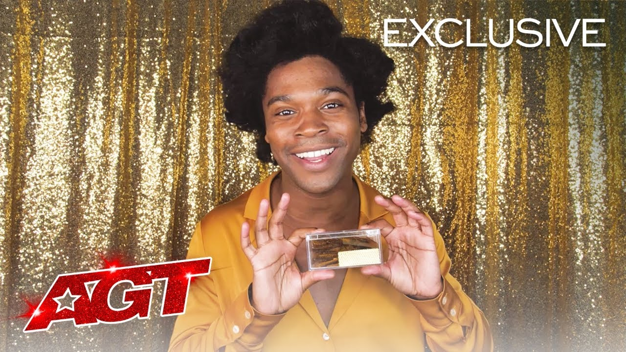 Jimmie Herrod Expresses Gratitude For His Golden Buzzer Moment - America's Got Talent 2021