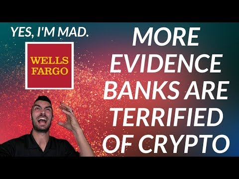 Banks Are Scared of Crypto | Tons of Crypto Giveaways!