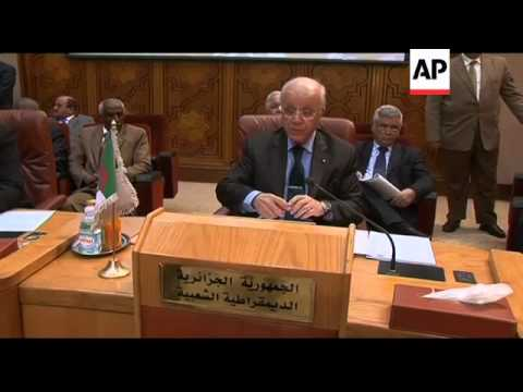Arab League meets to discuss imposing