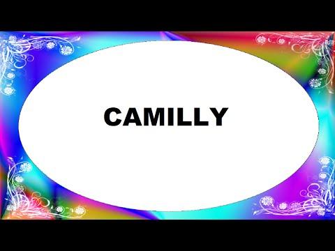Camilly Significado e Origem do Nome