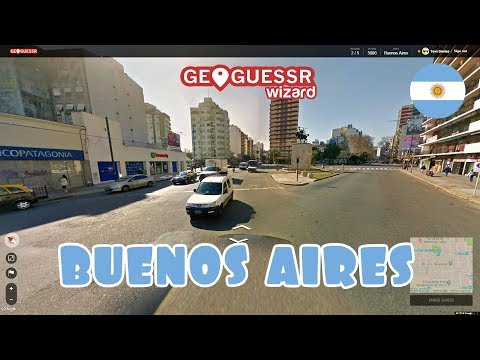 Geoguessr - World city Wednesdays #4 - Buenos Aires
